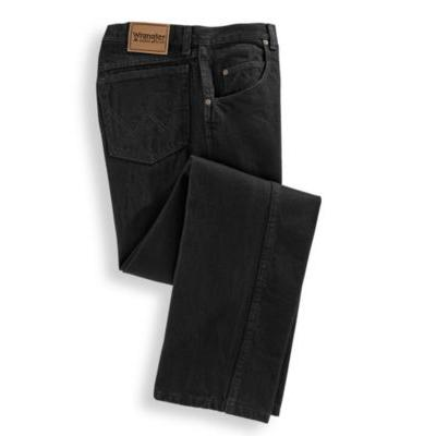 Men's Rugged Wear Relaxed Fit Jeans by Wrangler, Black, S...