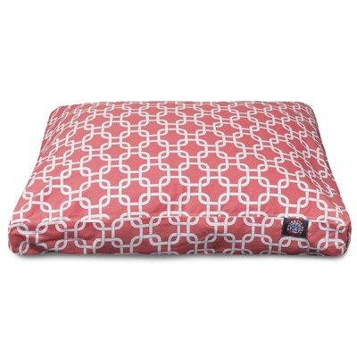 Majestic Pet Links Rectangle Pet Bed with Waterproof Deni...