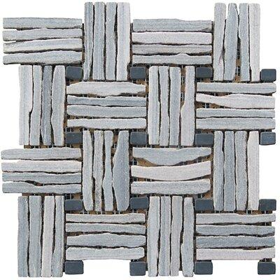 "Intrend Tile Landscape Wonder 12.5"" x 12.5"" Quartzite Bas..."