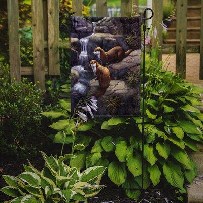 Caroline's Treasures Otters by the Waterfall by Daphne Ba...