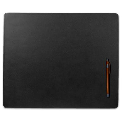 Dacasso Black Leather Conference Table Pad, 17 x 14
