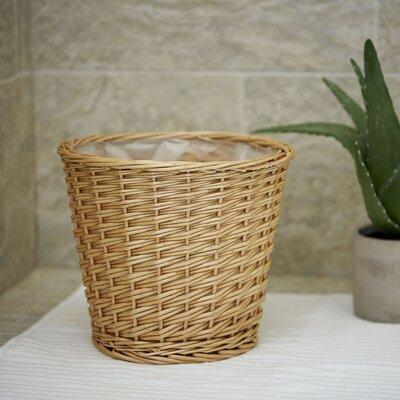 Household Essentials Wicker Waste Basket ML-2312