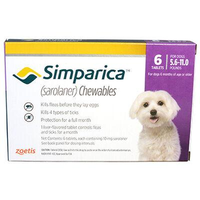 Simparica 12pk 5.6-11.0 lbs by Zoetis