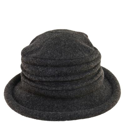 Scala Collezione Cloche Boiled Wool (Women's) Charcoal Si...