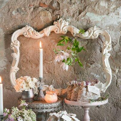 Weddingstar Open Ornate Vintage Inspired Picture Frame 9610-30 Color: Antique White