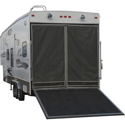 Classic Toy Hauler Adjustable Bug/Shade Tailgate Screen -...