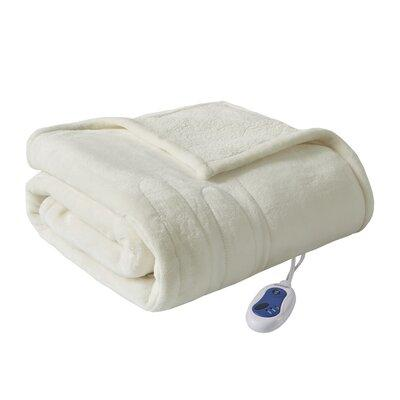 Beautyrest Berber Heated Throw BR54-03 Color: Ivory