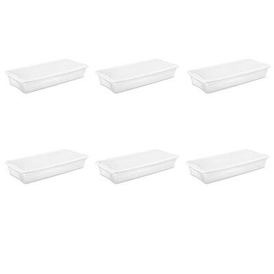 Sterilite Underbed Storage (Set of 6) 19608006