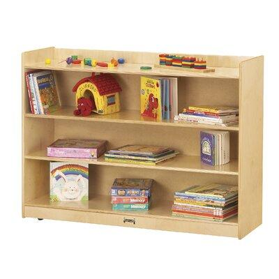 "JonTi CrafT 36"" H Mobile Bookcase w/ Lip"