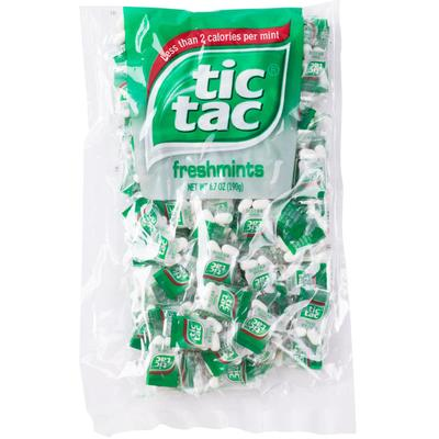 Tic Tac 4-Count Mint Pillow Pack - 1000/Case