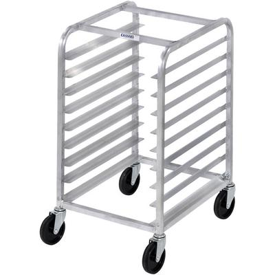 Channel 429A 7 Pan Aluminum Side Load Half Height Sheet / Bun Pan Rack - Assembled