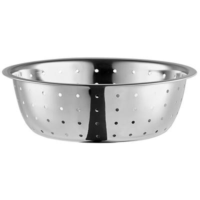 Thunder 5.5 Qt. Stainless Steel Chinese Colander with Lar...