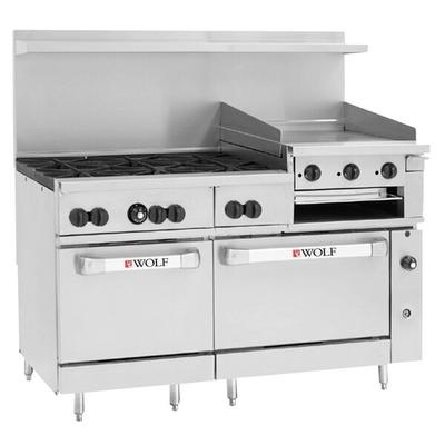 "Wolf C60SC-6B24GBN Challenger XL Series Natural Gas 60"" M..."