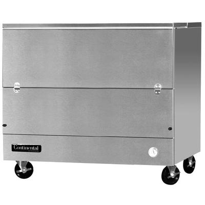 """Continental MC4-SS-SCW 49"""" Stainless Steel 1 Sided Cold W..."""