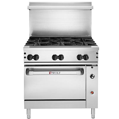 "Wolf C36C-6BP Challenger XL Series Liquid Propane 36"" Man..."