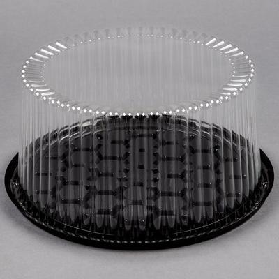 """D&W Fine Pack G27-1 9"""" 2-3 Layer Cake Display Container w..."""
