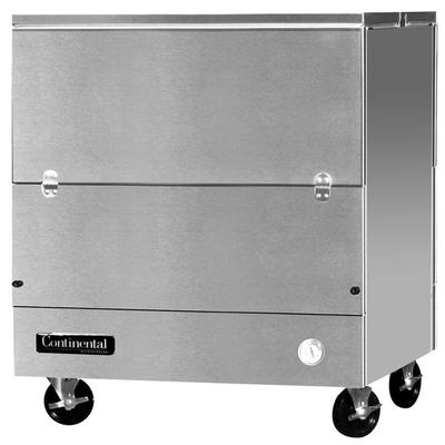 """Continental MC3-SS-DCW 34"""" Stainless Steel 2 Sided Cold W..."""