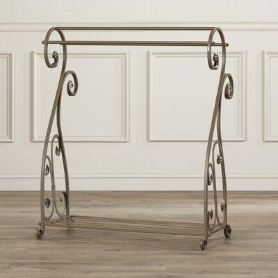 Astoria Grand Iron Accents Quilt Rack ASTG2326 Finish: Ag...