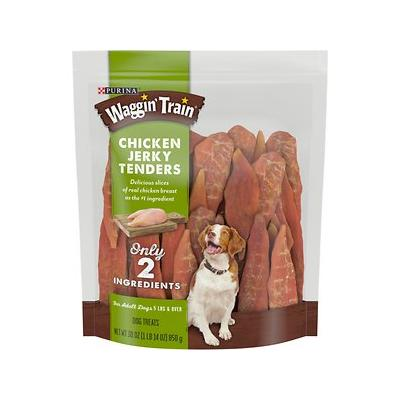 Waggin' Train Chicken Jerky Tenders Dog Treats, 30-oz bag