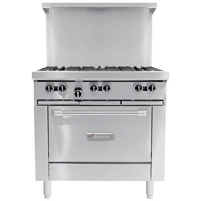 "Garland G36-6C Natural Gas 6 Burner 36"" Range with Convec..."