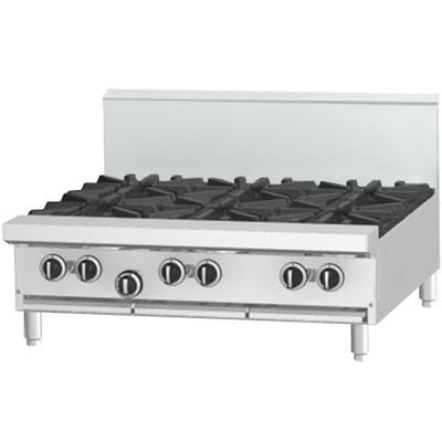 "Garland G36-6T Liquid Propane 6 Burner Modular Top 36"" Ra..."