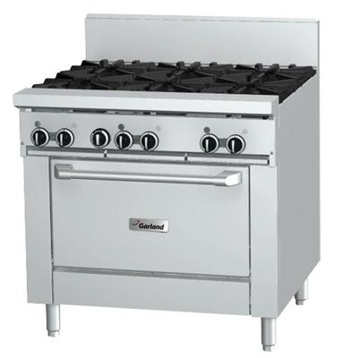 "Garland GFE36-6R Liquid Propane 6 Burner 36"" Range with F..."
