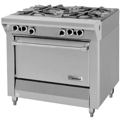 "Garland M44S Master Series Natural Gas 4 Burner 34"" Range..."