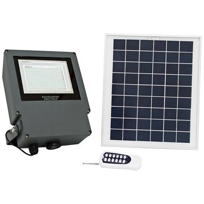 Universal Lighting Gray LED Flood Light with Remote Control