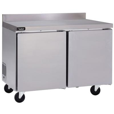 "Delfield GUF48BP-S 48"" Two Door Worktop Freezer with Back..."