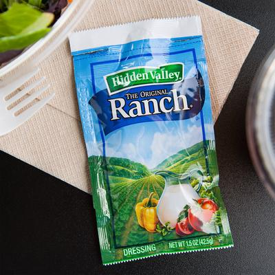 Hidden Valley 1.5 oz. Original Ranch Dressing Packet - 84...