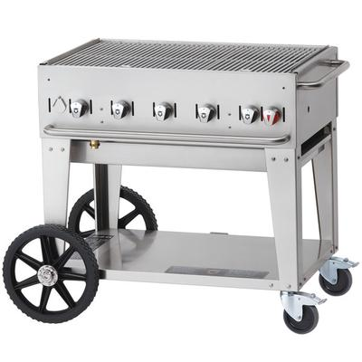 "Crown Verity Outdoor Charbroiler, Lp Gas, 34"" X21"" Grill Area, 5"