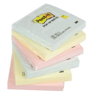 """3M R330-12AP Post-It Marseille Collection 3"""" x 3"""" 100 She..."""
