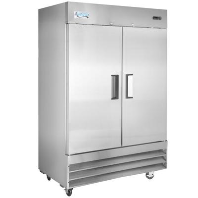 "Avantco A-49R-HC 54"" Solid Door Reach-In Refrigerator"