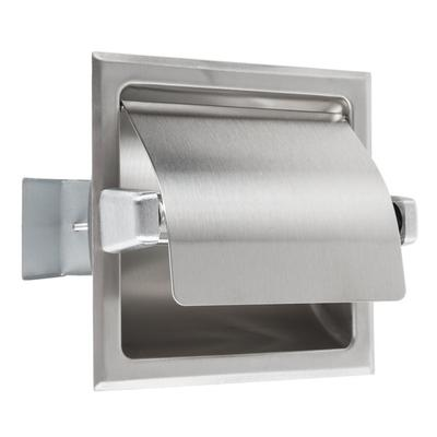 Bobrick B-6697 Recessed Toilet Tissue Dispenser with Stai...