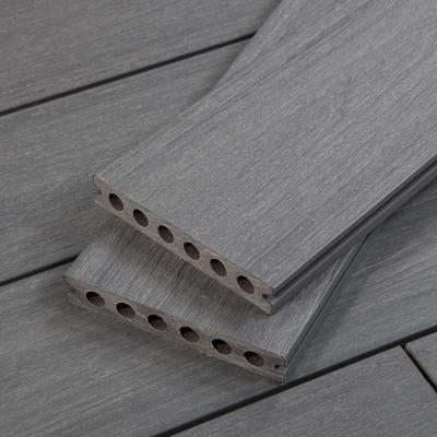 Composite Wood Decking by Cali Bamboo, Dark Grey, Wide Pl...