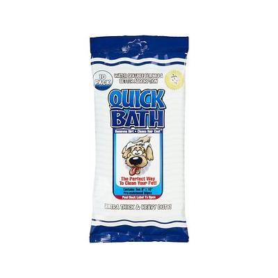 International Veterinary Sciences Quick Bath Large Breed Dog Wipes, 10 count; Make bath time hassle-free and mess-free with the International Veterinary Sciences Quick Bath Large Breed Dog Wipes. These extra thick, super absorbent pre-moistened 8 x 10...