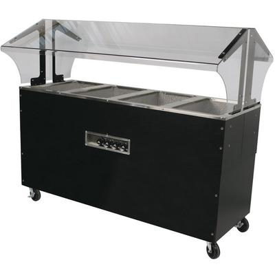 Advance Tabco BBSSB Enclosed Base Everyday Buffet Stainless - Electric hot food table