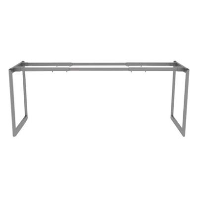 "Alera ALELSTB24GR Open Office Desk Series 24"" Silver Adju..."