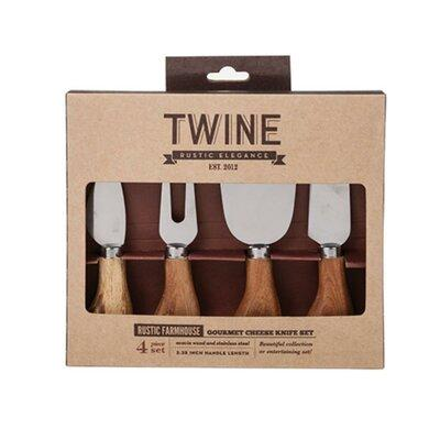 Twine Farmhouse 4 Piece Gourmet Cheese Knives Set 3367
