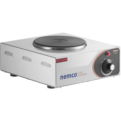 Nemco 6310-1 Electric Countertop Hot Plate with 1 Solid B...
