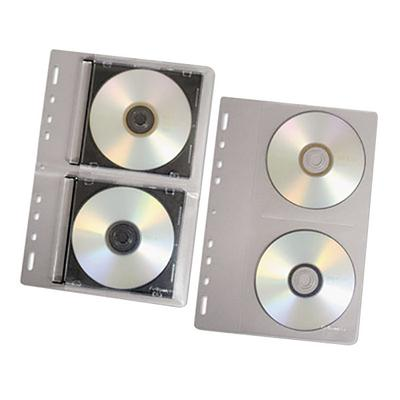 """Fellowes 95304 7 3/8"""" x 11 1/8"""" Clear 2 Disc CD/DVD Prote..."""