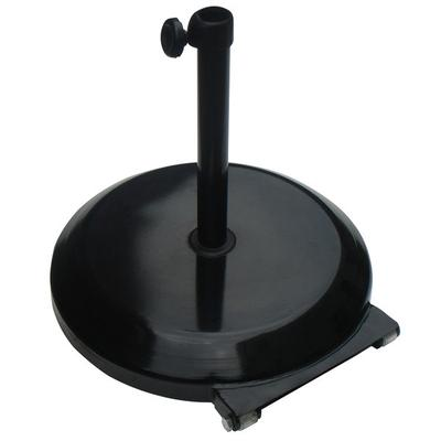 California Umbrella CFMT172-203 75 lb. Black Umbrella Base