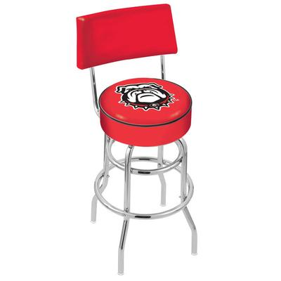 Holland Bar Stool L7C430GA-Dog University of Georgia Doub...