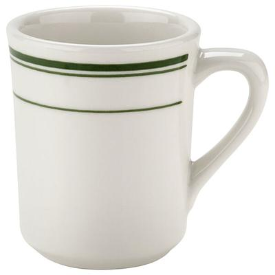 TUXTON TGB-017 Green Bay 8 oz. China Tiara Mug / Cup - 36...