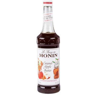 MONIN 750 mL Premium Caramel Apple Butter Flavoring Syrup
