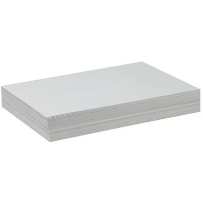 """Pacon 4742 12"""" x 18"""" White Ream of 47# Drawing Paper - 50..."""