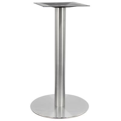 "Art Marble SS14-23D 23"" Round Polished Stainless Steel St..."