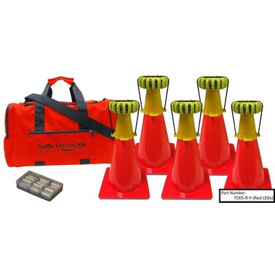 Powerflare Outdoor Gear 5-Position Traffic Control Kit Gr...