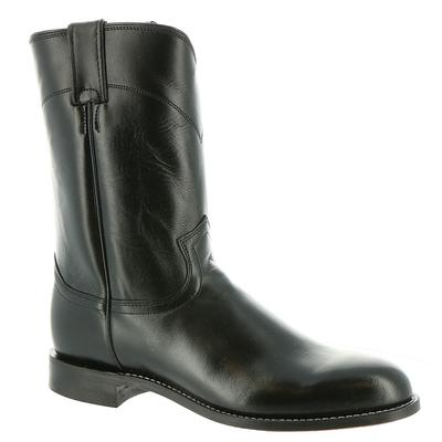Justin Ropers 3133 - Mens 8.5 Black Boot D
