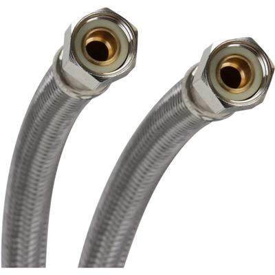 "Fluidmaster PRO6F12 12"" Faucet Connection Hose 3/8"" Compr..."